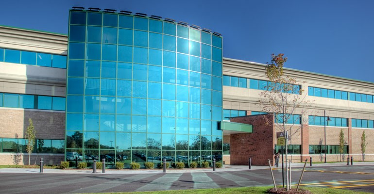 New England Institute of Technology's Student Center which includes classrooms, a bookstore, and learning resource center which was built with the assistance of a RIHEBC bond issue in 2008.