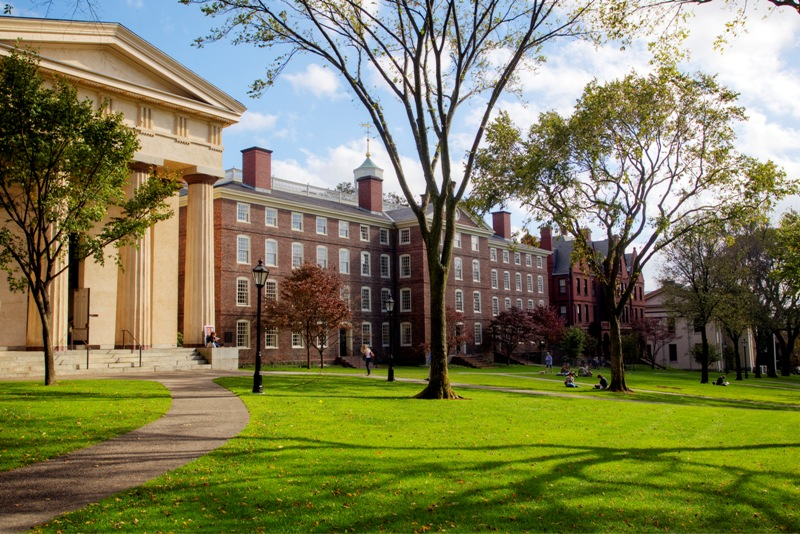 Brown University, the seventh-oldest college in the United States, is an independent, coeducational Ivy League institution comprising undergraduate and graduate programs.